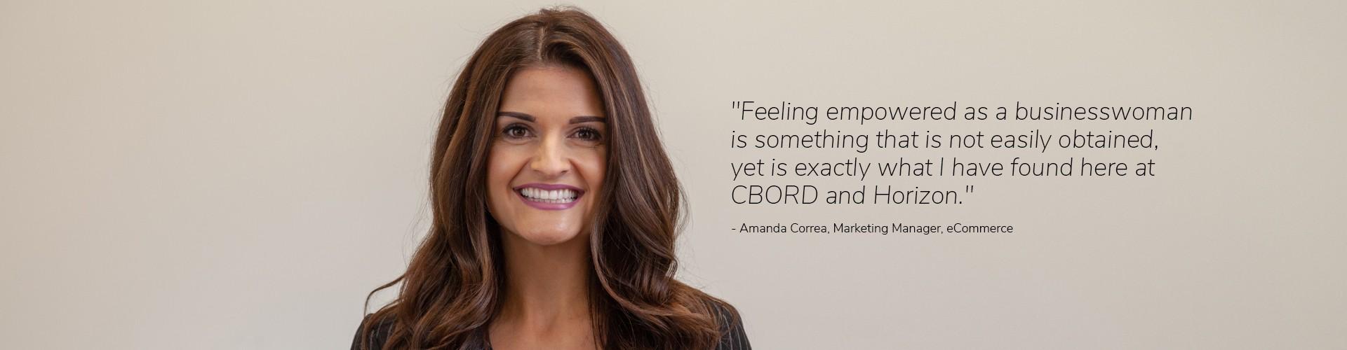 Amanda Correa - Horizon Software Testimonial